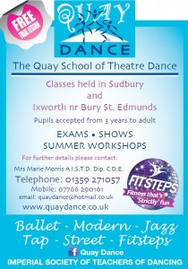 quay Dance ixworth village hall